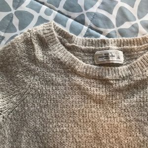 Gold shimmery sweater